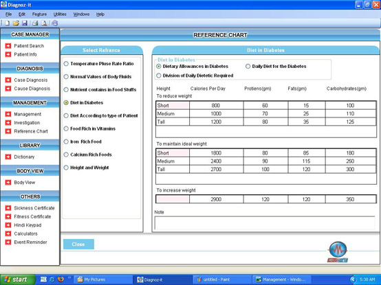 Diagnoz-it: Features of our software
